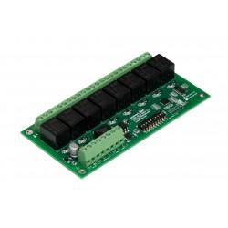 DMX 8-ch. Relay Output Module (12 VDC)