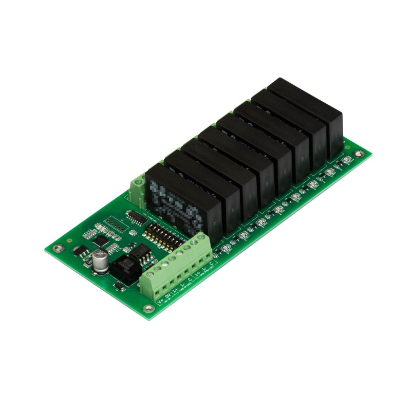 DMX 8ch Solid State Relay Output Module AndrewLabs