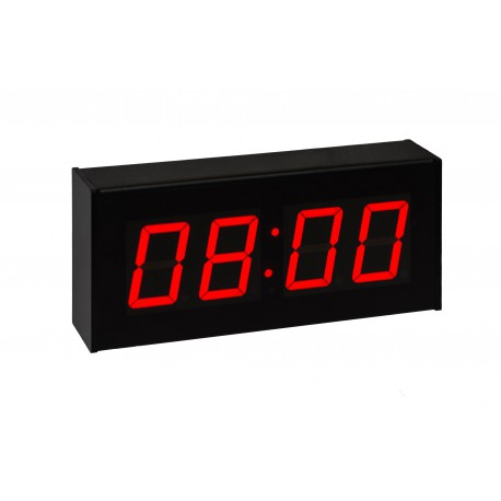 "Synchronised Digital Clock (2.3"" Digit Height, Wireless Mesh Network)"