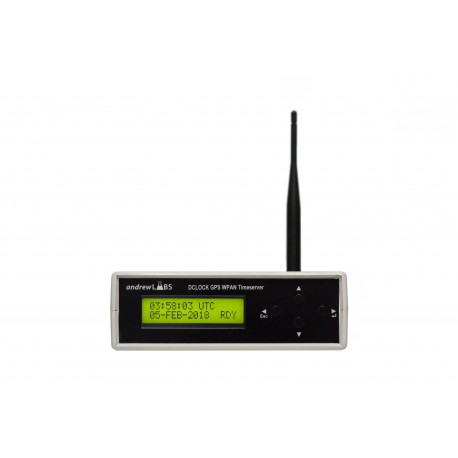 DClock Wireless Mesh Network GPS Timesource