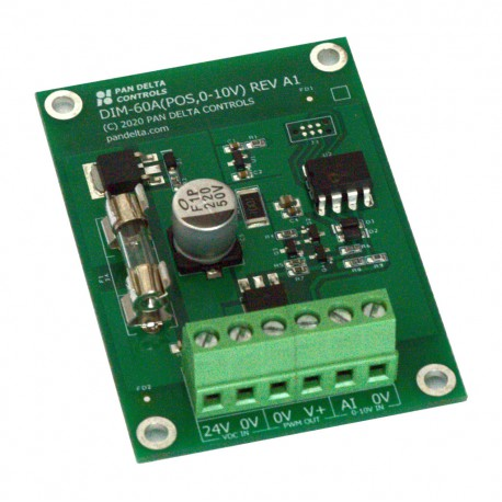 LED Dimmer (24VDC, 60W, Current-Sourcing, Discrete-Step)